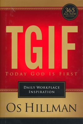 Click to buy your copy of TGIF in the Bible Gateway Store
