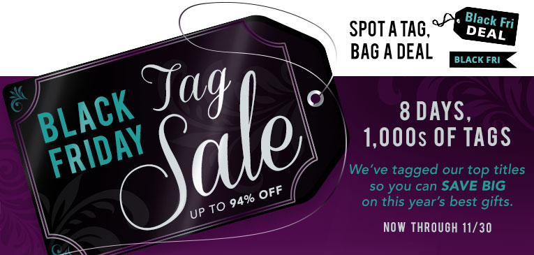 Shop the Black Friday Tag Sale in the Bible Gateway Store