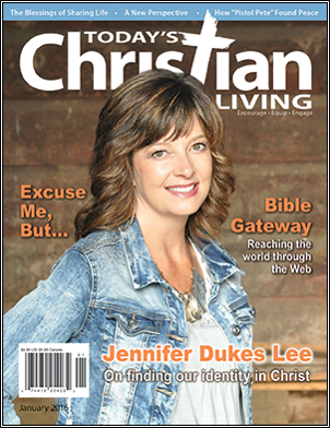 November 2015 edition of Today's Christian Living