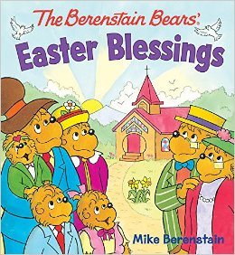 Click to buy your copy of The Berenstain Bears Easter Blessings Board Book in the Bible Gateway Store