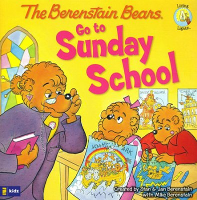 Click to buy your copy of The Berenstain Bears Go to Sunday School in the Bible Gateway Store