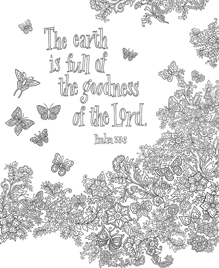 A Coloring Page For You To Enjoy Bible Gateway Blog