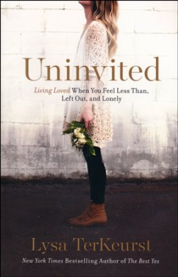 Buy your copy of Uninvited: Living Loved When You Feel Less Than, Left Out and Lonely in the Bible Gateway Store