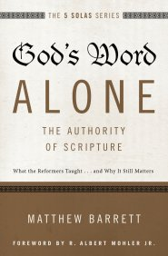 Buy your copy of God's Word Alone in the Bible Gateway Store where you'll enjoy low prices every day