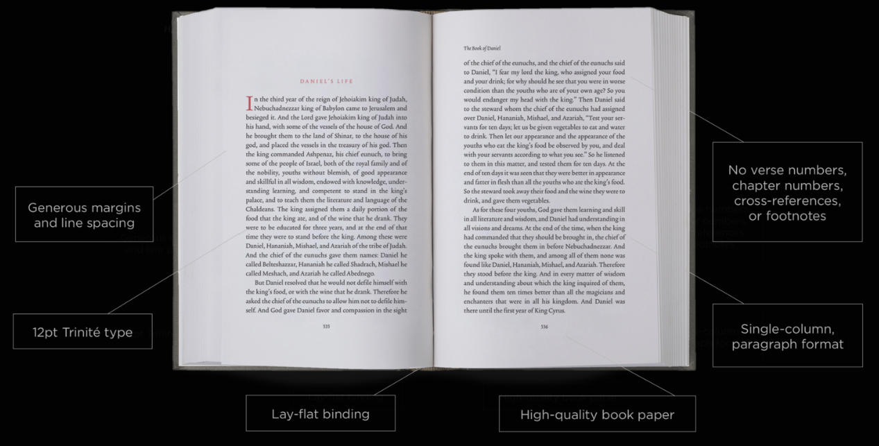 Crossway Releases New ESV Reader's Bible 6-Volume Set