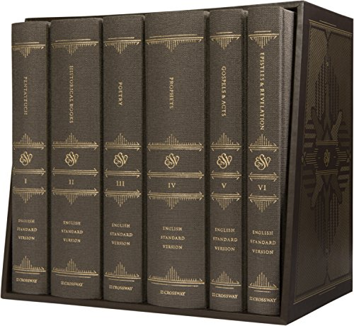 Learn more about the ESV Reader's Bible, Six-Volume Set, Cloth Over Board with Slipcase in the Bible Gateway Store where you'll enjoy low prices every day