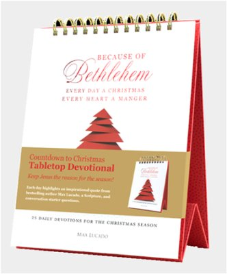 Buy your copy of the Because of Bethlehem Advent Devotional in the Bible Gateway Store where it's always on sale
