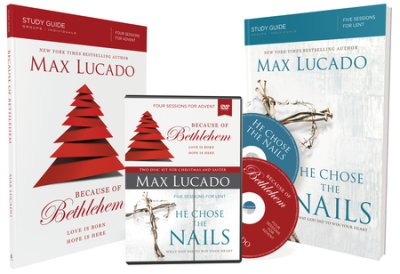 Buy your copy of Because of Bethlehem/He Chose the Nails Study Guides with DVD in the Bible Gateway Store where it's always on sale