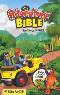 Buy your copy of the NIrV Adventure Bible for Early Readers in the Bible Gateway Store where it's always on sale