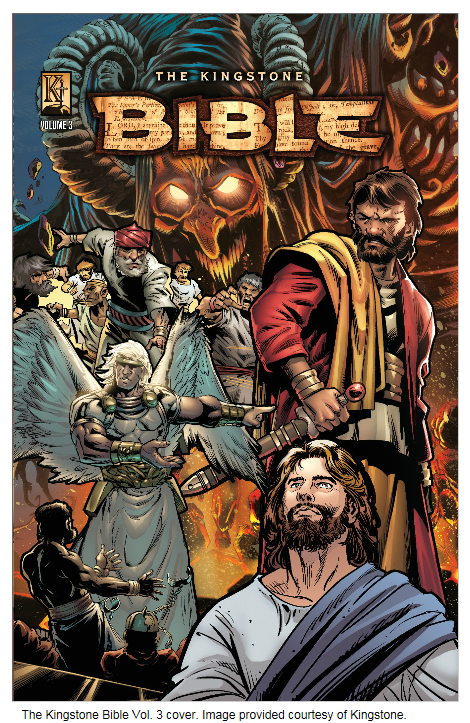 The Bible in Graphic Novel Form: An Interview with Art Ayris