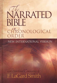 Buy your copy of The NIV Narrated Bible in the Bible Gateway Store where it's always on sale