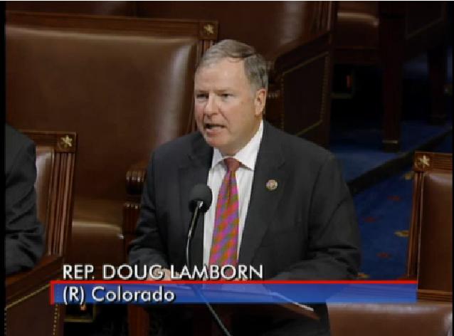 Rep. Doug Lamborn, Colorado