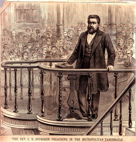 Charles Spurgeon, famous preacher
