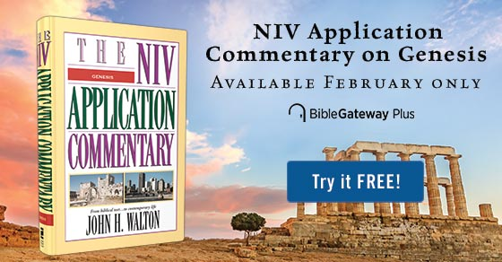 The NIV Application Commentary on Genesis now on Bible Gateway Plus