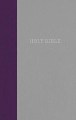 Buy your copy of the KJV, Thinline Bible, Standard Print, Purple/Gray Cloth over Board, Red Letter Edition with the new Comfort Print® font in the Bible Gateway Store where you'll enjoy low prices every day