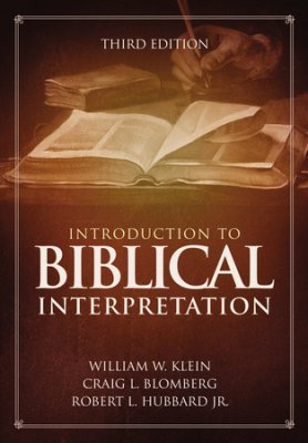 Buy your copy of Introduction to Biblical Interpretation in the Bible Gateway Store where you'll enjoy low prices every day