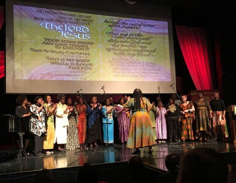 Africa Study Bible celebration in Chicago, Illinois