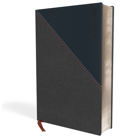 Buy your copy of the NIV Revolution Bible: The Bible for Teen Guys, Imitation Leather, Gray and Navy in the Bible Gateway Store where you'll enjoy low prices every day