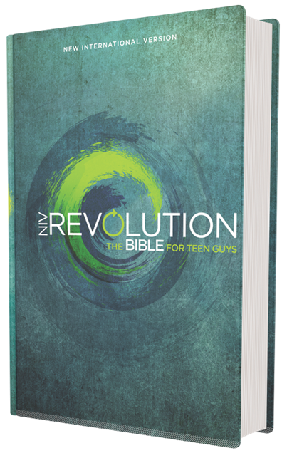 Buy your copy of the NIV Revolution Bible: The Bible for Teen Guys in the Bible Gateway Store where you'll enjoy low prices every day