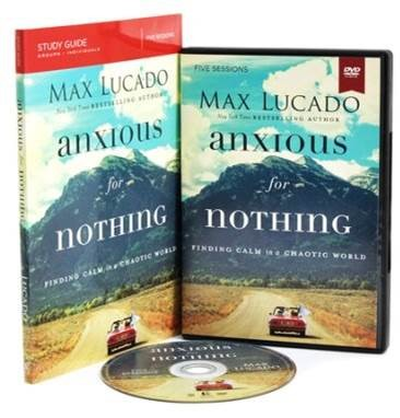 Anxious for Nothing Study Guide with DVD: Finding Calm in ...