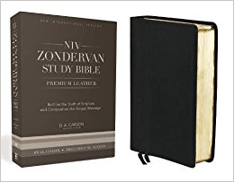 Learn more about the NIV Zondervan Study Bible premium leather edition in the Bible Gateway Store where you'll enjoy low prices every day