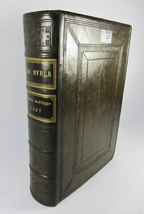 The Matthew Bible