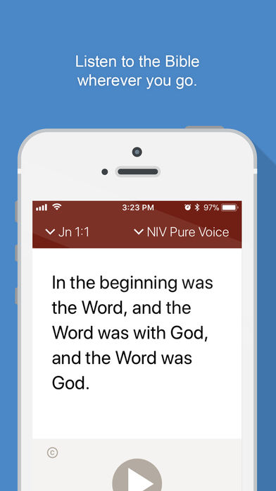 Listen to the Bible wherever you go with Bible Gateway's Bible Audio App
