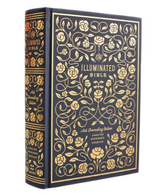 Learn more about the ESV Illuminated Bible, Art Journaling Edition, Blue Clothbound Hardcover with Slipcase in the Bible Gateway Store where you'll enjoy low prices every day