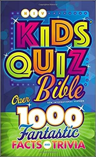 Buy your copy of the NIV Kids' Quiz Bible in the Bible Gateway Store where you'll enjoy low prices every day