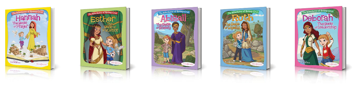 See the books in the Bible Belles series in the Bible Gateway Store where you'll enjoy low prices every day