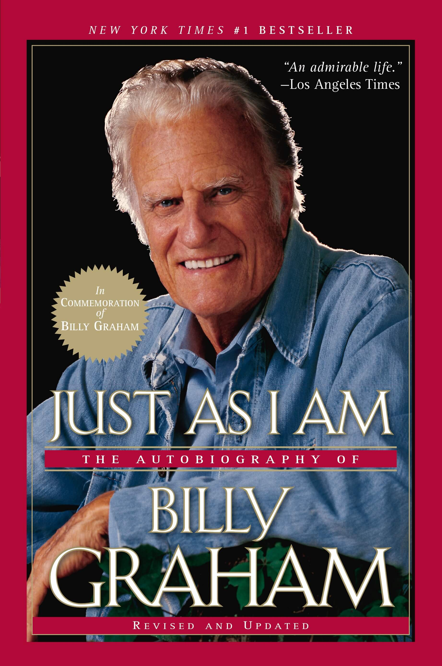 Buy your copy of Just As I Am: The Autobiography of Billy Graham, Revised and Updated in the Bible Gateway Store where you'll enjoy low prices every day