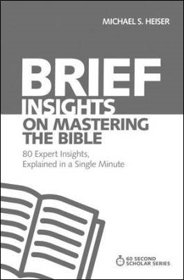 Buy your copy of Brief Insights on Mastering the Bible in the Bible Gateway Store where you'll enjoy low prices every day
