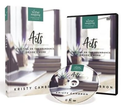 Buy your copy of Verse Mapping Acts with DVD: Feasting on the Abundance of God's Word in the Bible Gateway Store where you'll enjoy low prices every day
