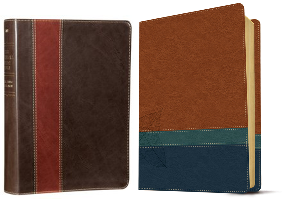 Learn more about The NLT Swindoll Study Bible: soft leather-look, brown/teal/blue (indexed) in the Bible Gateway Store where you'll enjoy low prices every day