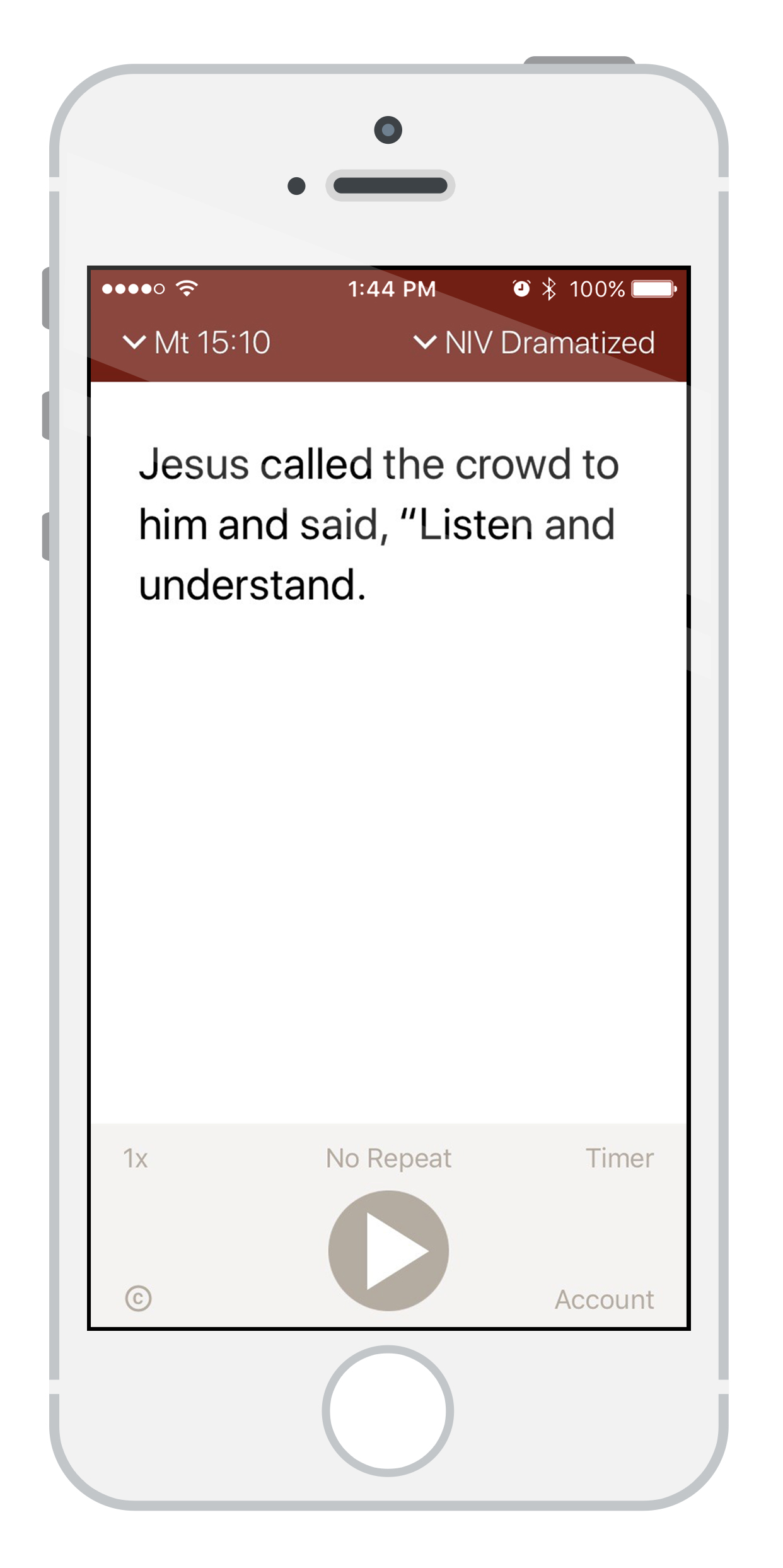 Memorizing Bible Verses is Easy with the Bible Audio App - Bible