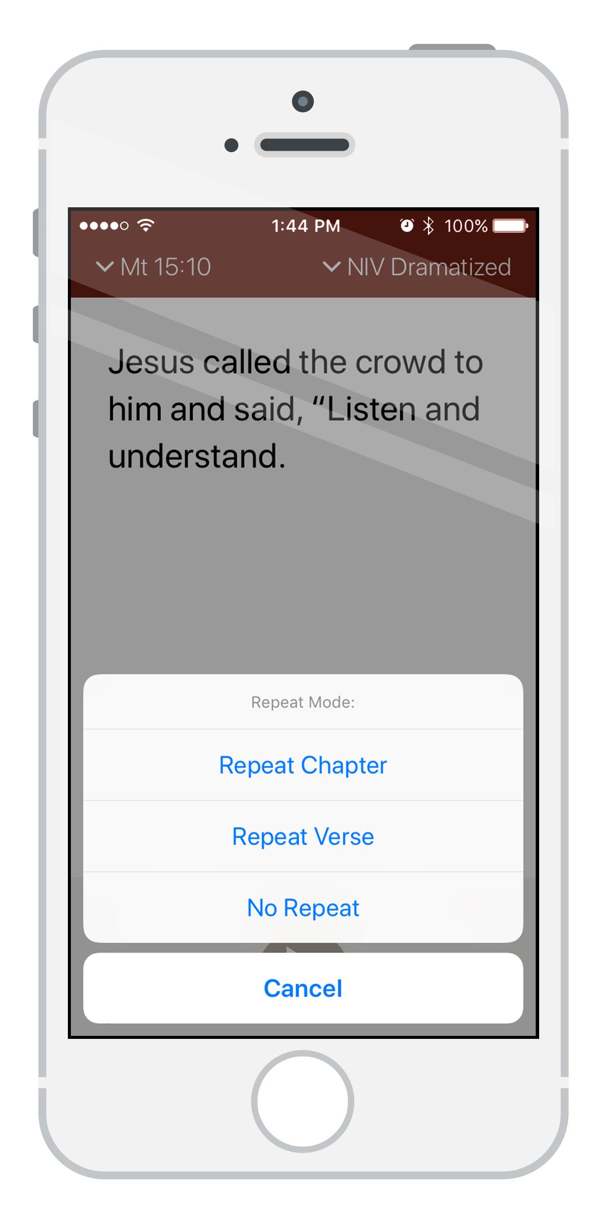 Memorizing Bible Verses is Easy with the Bible Audio App