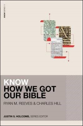 Buy your copy of Know How We Got Our Bible in the Bible Gateway Store where you'll enjoy low prices every day