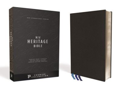 Learn more about the NIV Comfort Print Heritage Bible, Premium Leather, Black, Premier Collection in the Bible Gateway Store where you'll enjoy low prices every day