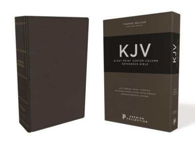 Buy your copy of the KJV Giant Print Center-Column Reference Bible in the Bible Gateway Store where you'll enjoy low prices every day
