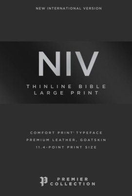 Buy your copy of the NIV Large Print Thinline Bible in the Bible Gateway Store where you'll enjoy low prices every day
