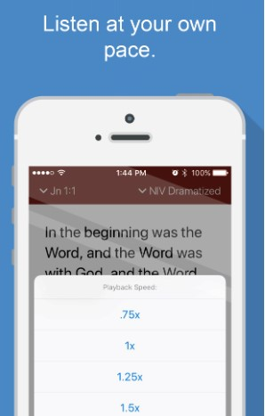 Download Bible Gateway's free Bible Audio App