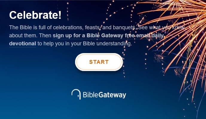 Quiz: What Does the Bible Say About Celebrations? - Bible