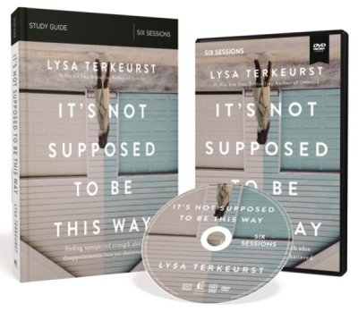 Buy your copy of It's Not Supposed to Be This Way, Study Pack (DVD and Study Guide) in the Bible Gateway Store where you'll enjoy low prices every day