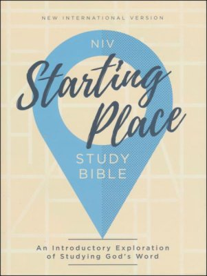 Buy your copy of the NIV Starting Place Study Bible: An Introductory Exploration of Studying God's Word in the Bible Gateway Store where you'll enjoy low prices every day