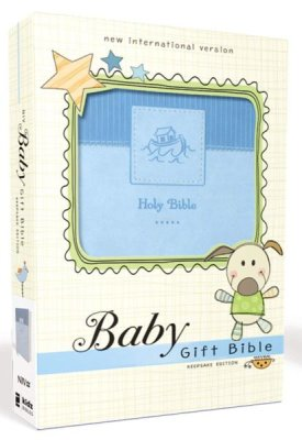 Buy your copy of NIV Baby Gift Holy Bible, Leathersoft, Blue, Comfort Print in the Bible Gateway Store where you'll enjoy low prices every day