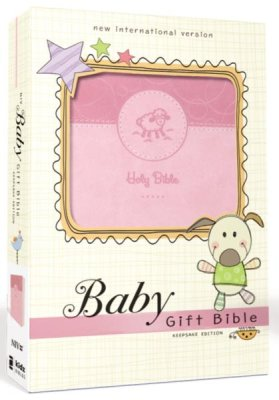Buy your copy of NIV Baby Gift Holy Bible, Leathersoft, Pink, Comfort Print in the Bible Gateway Store where you'll enjoy low prices every day