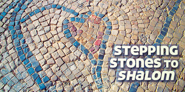 Sign up today to receive the free email devotional Stepping Stones to Shalom