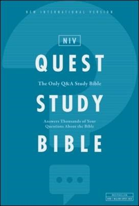 Buy your copy of the NIV Quest Study Bible in the Bible Gateway Store where you'll enjoy low prices every day