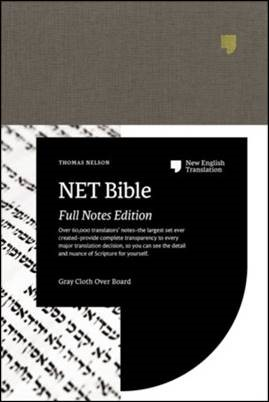 Buy your copy of the NET Bible in the Bible Gateway Store where you'll enjoy low prices every day