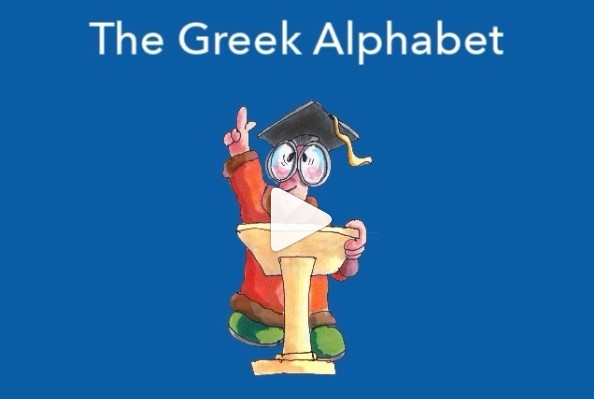 If Bill Mounce's children can learn the Greek alphabet, so can you!